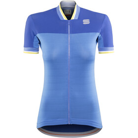 Sportful Grace Jersey Women Parrot Blue/Blue Cosmic